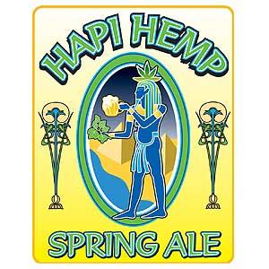 Hapi Hemp Spring Ale