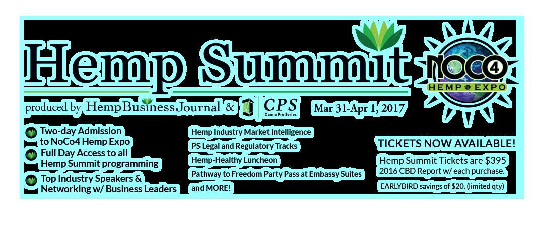 Hemp Summit - hemp industry leaders, legal and regulatory tax, hemp-healthy lunch