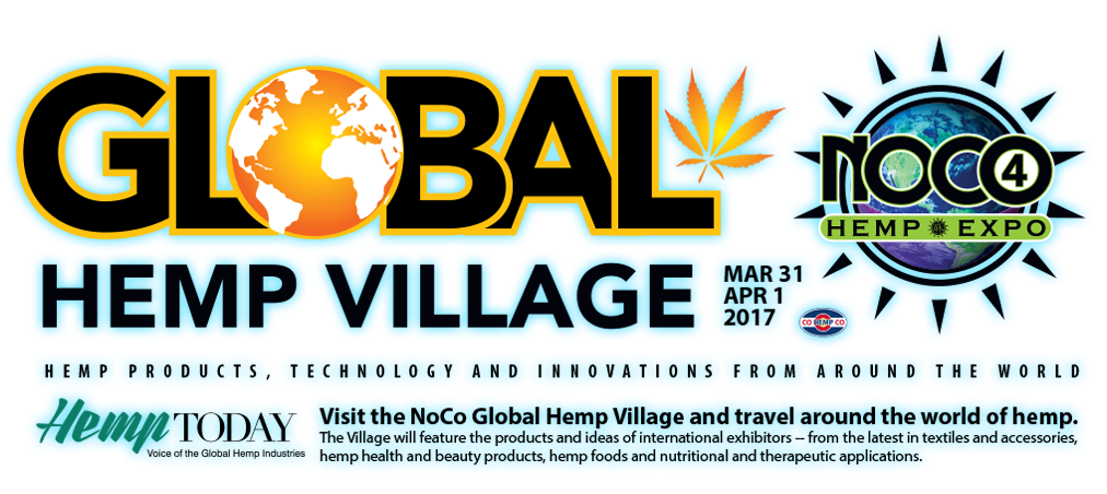 Global Hemp Village - the village will feature the products and ideas of international exhibitors