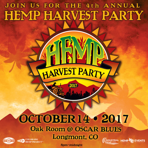 4th Annual Hemp Harvest Party!