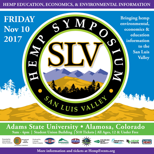 2nd Annual Hemp Symposium Brings Hemp Education, Economics, and Environmental Information to the San Luis Valley